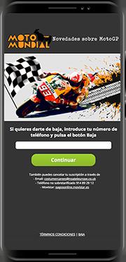 Moto Mundial<br/><span> News portal dedicated to Moto Gp world. Spain</span>