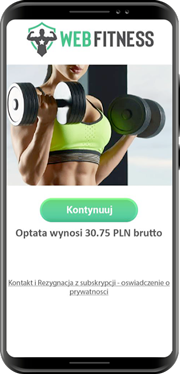 Web Fitness<br/><span> Videos, contents, and news about how to lead a healthy lifestyle. Poland</span>
