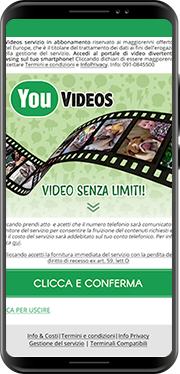 You Videos<br/><span>Best online video portal. Italy</span>